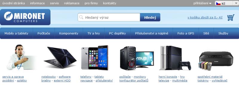 Ukázka z Mironet.cz