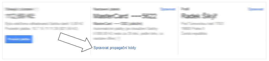 Ukázka z Google Adwords