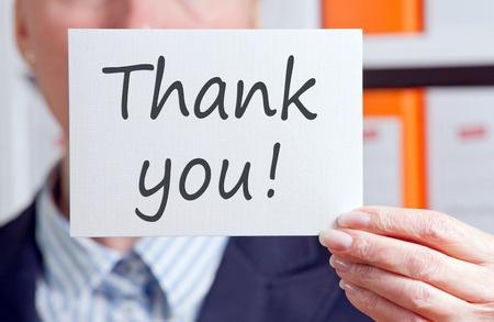 Poděkujte zákazníkům